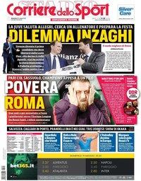 capa Corriere dello Sport de 19 maio 2019