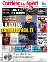 capa Corriere dello Sport de 20 maio 2019