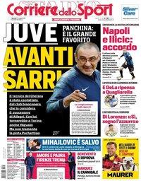capa Corriere dello Sport de 21 maio 2019