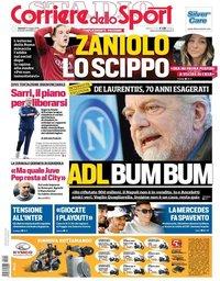 capa Corriere dello Sport de 24 maio 2019