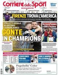 capa Corriere dello Sport de 27 maio 2019