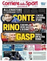 capa Corriere dello Sport de 28 maio 2019