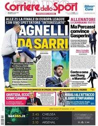 capa Corriere dello Sport de 29 maio 2019