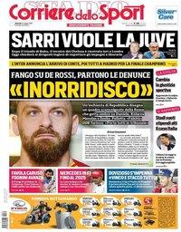 capa Corriere dello Sport de 31 maio 2019