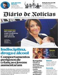 capa Diário de Notícias de 23 maio 2019