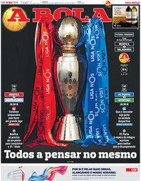 capa Jornal A Bola de 18 maio 2019
