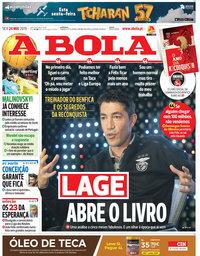capa Jornal A Bola de 24 maio 2019