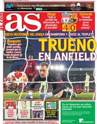 capa Jornal As de 8 maio 2019