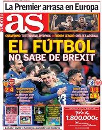 capa Jornal As de 10 maio 2019