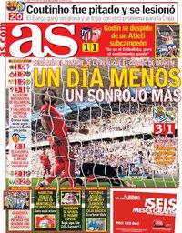 capa Jornal As de 13 maio 2019