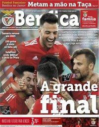 capa Jornal Benfica de 17 maio 2019