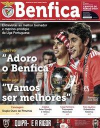 capa Jornal Benfica de 31 maio 2019