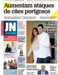 capa Jornal de Notícias de 7 maio 2019