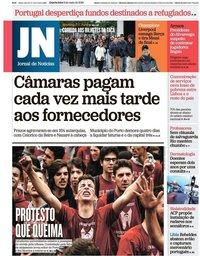 capa Jornal de Notícias de 8 maio 2019
