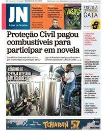 capa Jornal de Notícias de 24 maio 2019