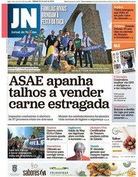 capa Jornal de Notícias de 25 maio 2019