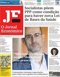 capa Jornal Económico de 3 maio 2019