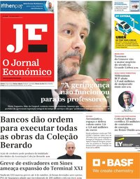 capa Jornal Económico de 10 maio 2019