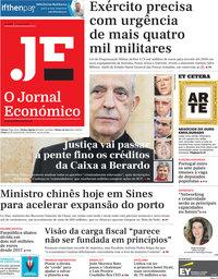 capa Jornal Económico de 17 maio 2019