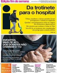 capa Jornal i de 3 maio 2019