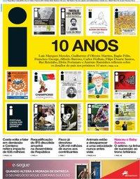 capa Jornal i de 7 maio 2019