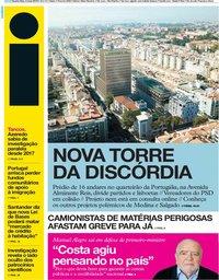 capa Jornal i de 8 maio 2019