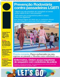 capa Jornal i de 14 maio 2019