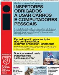 capa Jornal i de 20 maio 2019