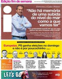 capa Jornal i de 24 maio 2019