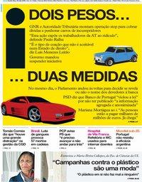 capa Jornal i de 29 maio 2019