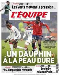 capa Jornal L'Équipe de 6 maio 2019