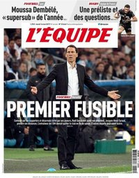 capa Jornal L'Équipe de 14 maio 2019