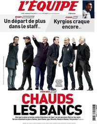 capa Jornal L'Équipe de 17 maio 2019