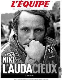 capa Jornal L'Équipe de 22 maio 2019