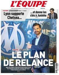 capa Jornal L'Équipe de 29 maio 2019