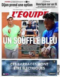 capa Jornal L'Équipe de 31 maio 2019