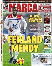 capa Jornal Marca de 1 maio 2019