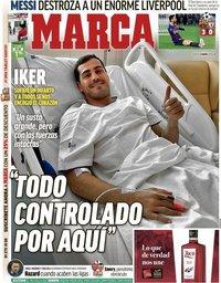 capa Jornal Marca de 2 maio 2019