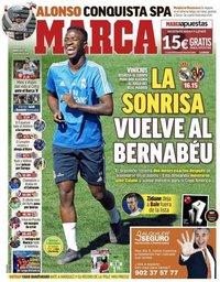 capa Jornal Marca de 5 maio 2019