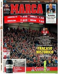 capa Jornal Marca de 8 maio 2019