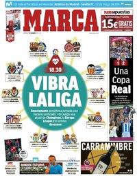 capa Jornal Marca de 12 maio 2019
