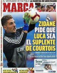 capa Jornal Marca de 14 maio 2019