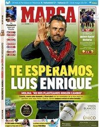 capa Jornal Marca de 18 maio 2019