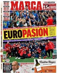 capa Jornal Marca de 19 maio 2019