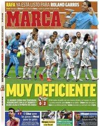 capa Jornal Marca de 20 maio 2019