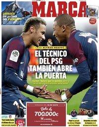 capa Jornal Marca de 24 maio 2019