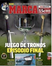 capa Jornal Marca de 25 maio 2019