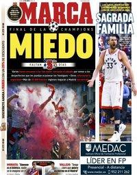capa Jornal Marca de 27 maio 2019