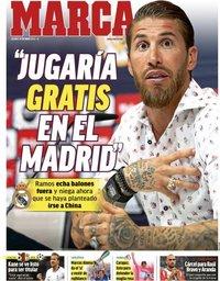 capa Jornal Marca de 31 maio 2019