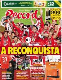 capa Jornal Record de 19 maio 2019